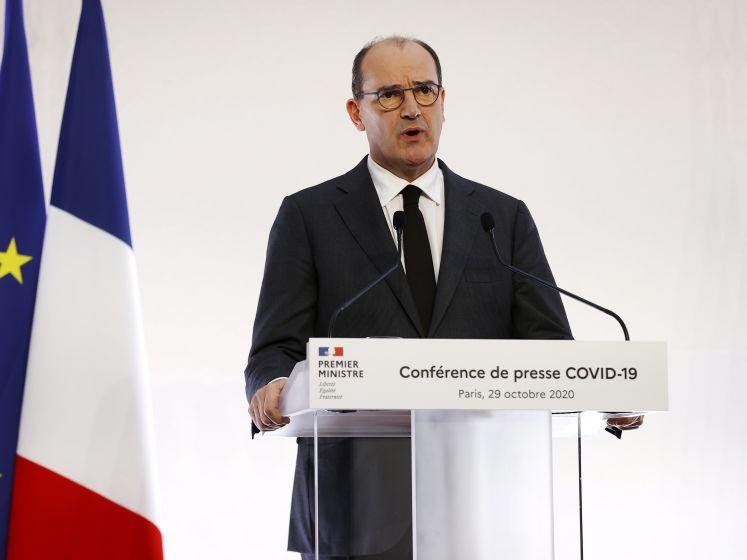 Jean Castex précise les modalités du reconfinement en France