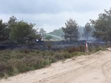 Brand op Leusderhei onder controle