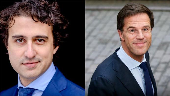 Jesse Klaver en Mark Rutte