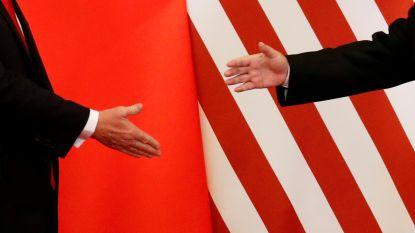 """Gesprek was """"constructief en openhartig"""" maar geen doorbraak in onderhandelingen VS en China"""
