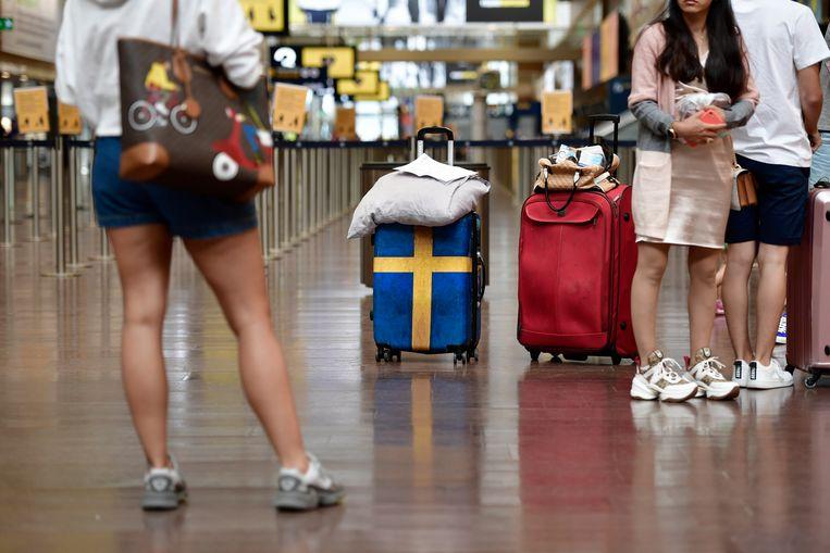 Niet alle vastzittende vakantiegangers hebben recht op een kosteloze repatriëringsvlucht. Beeld EPA