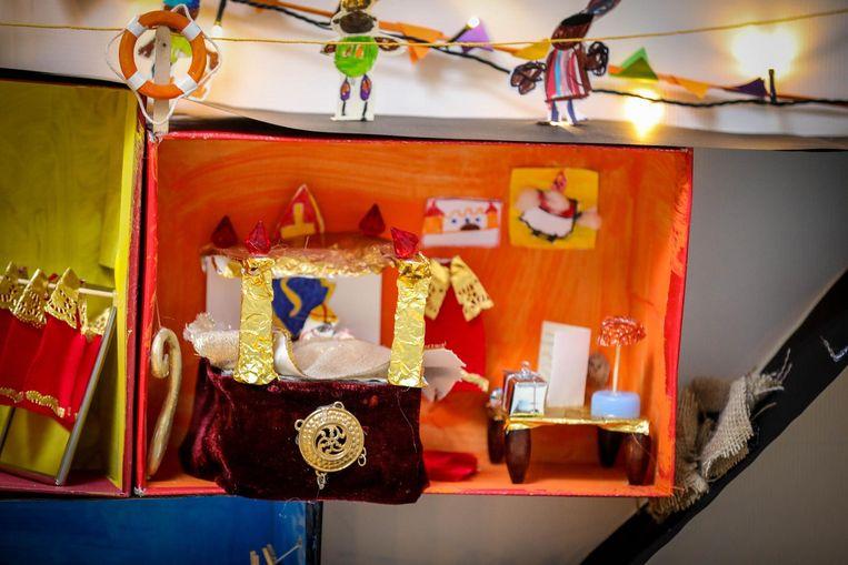 De slaapkamer van de Sint.