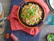 Wat Eten We Vandaag: Braziliaanse bonensalade met spekjes en chorizo