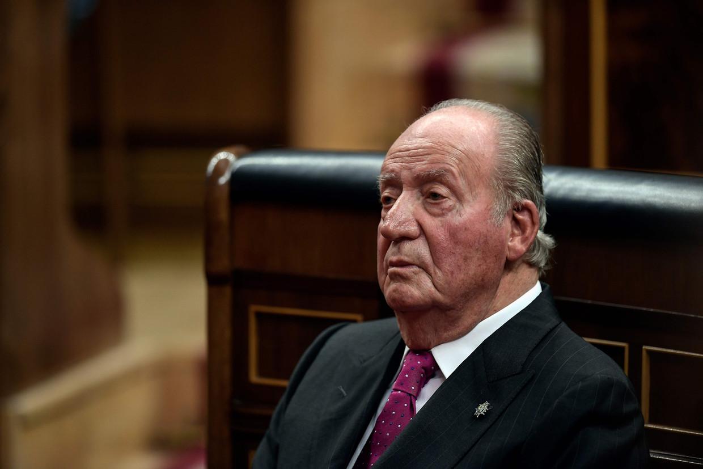 De Spaanse koning Juan Carlos.