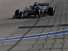 Strafpunten Hamilton omgezet in boete Mercedes