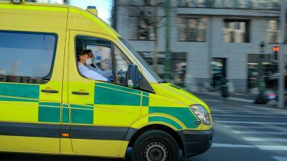 Tramverkeer even onderbroken door gevallen fietser