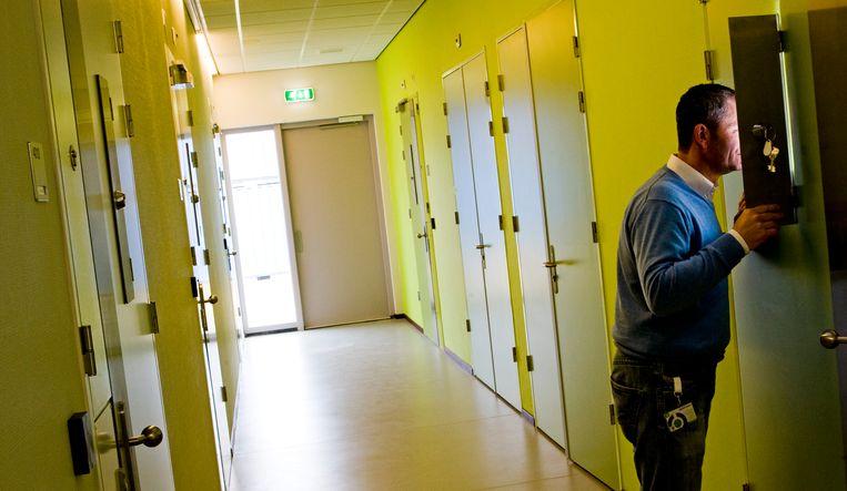 GGZ-instelling de Woenselse Poort in Eindhoven. De Woenselse Poort behandelt mensen met meervoudige, complexe en langdurende psychiatrische problemen. Beeld ANP XTRA