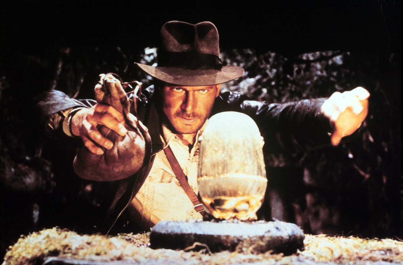 Harrison Ford in Indiana Jones