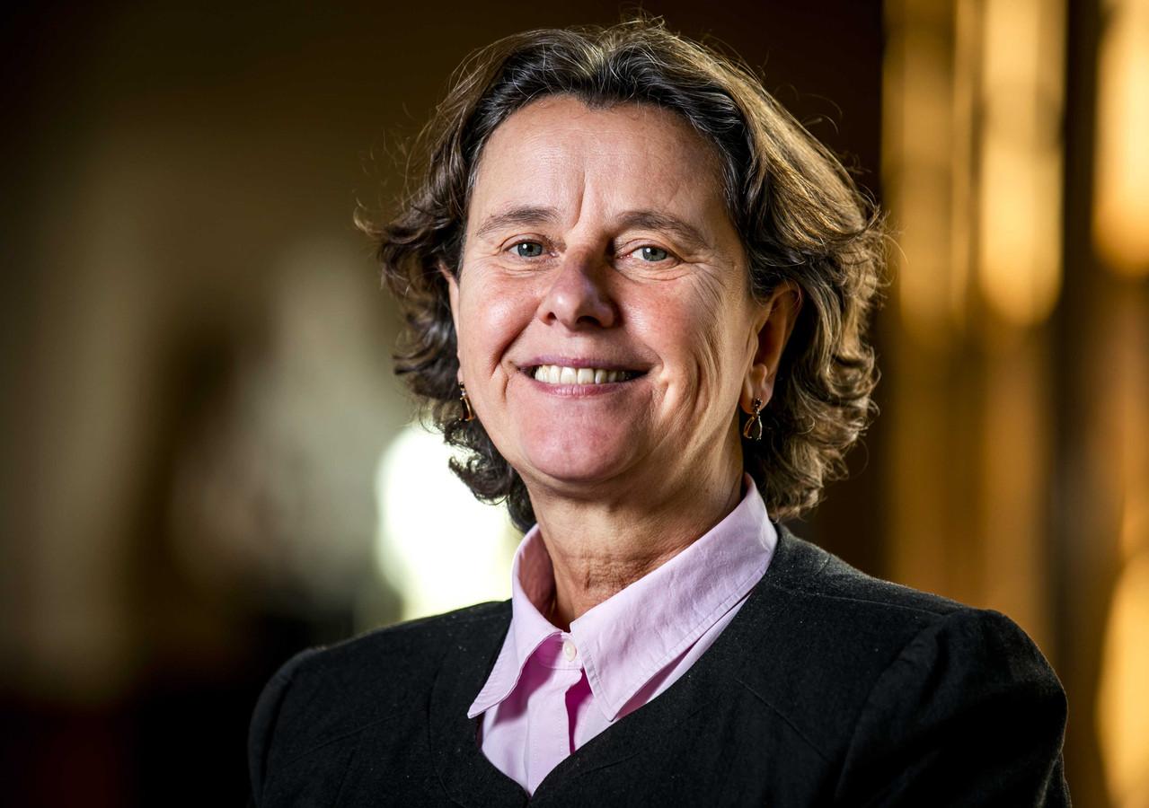 Portret van Marjolein Faber, lijsttrekker voor de Partij voor de Vrijheid (PVV) in de Eerste Kamer.