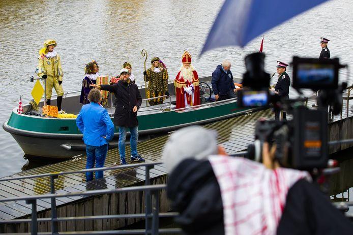 Opnames van de Sinterklaasfilm