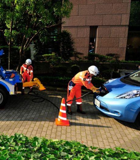 Dit gebeurt er wanneer je de accu van een elektrische auto compleet leegrijdt