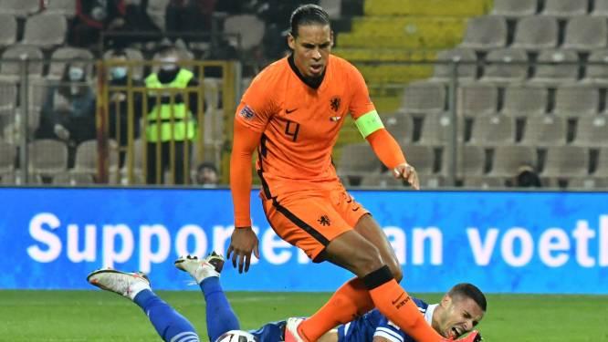 IJsland verliest vóór komst Duivels tegen Denemarken - Nederland wint niet in Bosnië - Haaland maakt hattrick