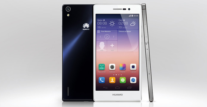 Huawei Ascend P7 had een 8 megapixel frontcamera