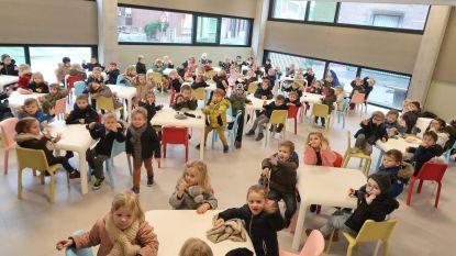 Iedere leeftijd zijn plaats in nieuw schoolrestaurant  De Brug