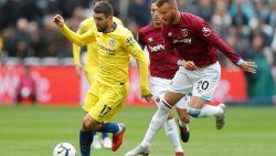 LIVE. West Ham - Chelsea bij de pauze nog zonder goals