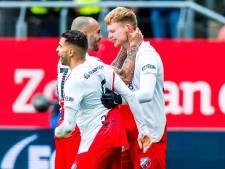 Bizarre slotfase bezorgt FC Utrecht volle buit dankzij debutant Arweiler
