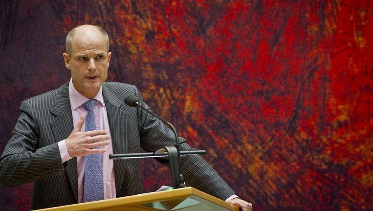 VVD-fractievoorzitter Stef Blok Beeld ANP