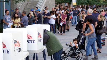 Eerste stembureaus in de VS geopend voor cruciale midterm-verkiezingen