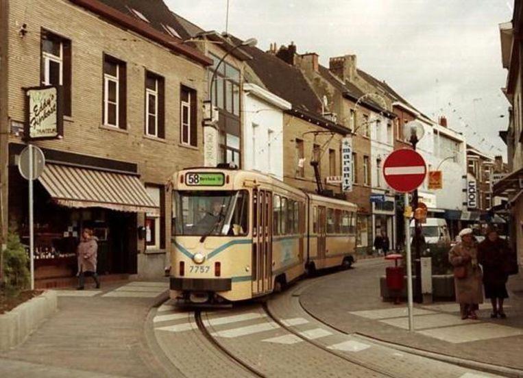 De legendarische tram 58 reed tot 1994 vanuit de hoofdstad naar Vilvoorde centrum.