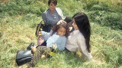 North West, dochter van Kim en Kanye, scoort eerste modeklus