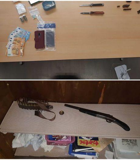 Vuurwapen en harddrugs gevonden in Doesburg