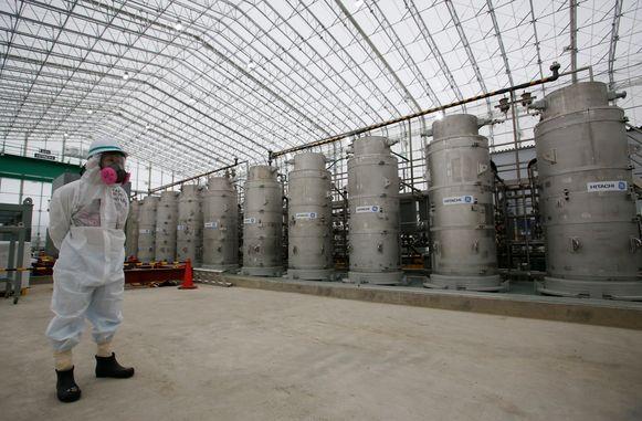 Archiefbeeld. Japan heeft vandaag beslist om de opruiming van duizenden gebruikte splijtstofstaven in de verwoeste kerncentrale van Fukushima met vijf jaar uit te stellen.