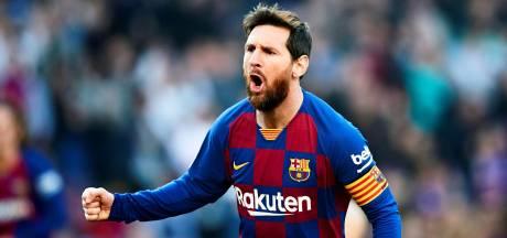 Messi weet net weer te vinden en hoe: vier goals tegen Eibar
