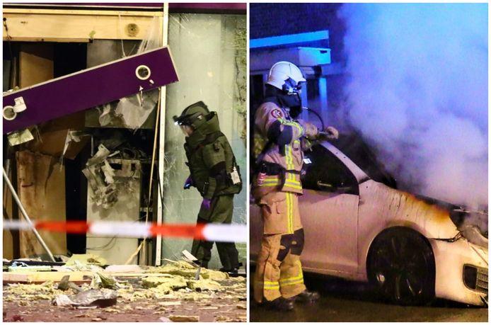 Een enorme plofkraak schrikte Enschede vrijdagochtend op. Net als wéér een autobrand in de stad, de vijftigste van het jaar.
