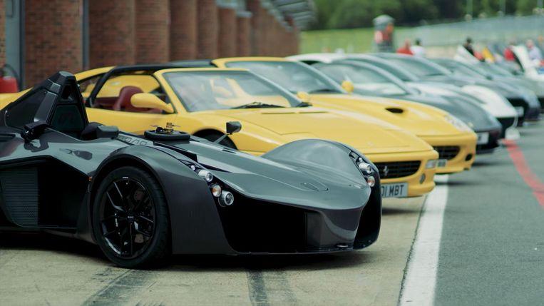 De supersportwagens van Gordon Ramsay.
