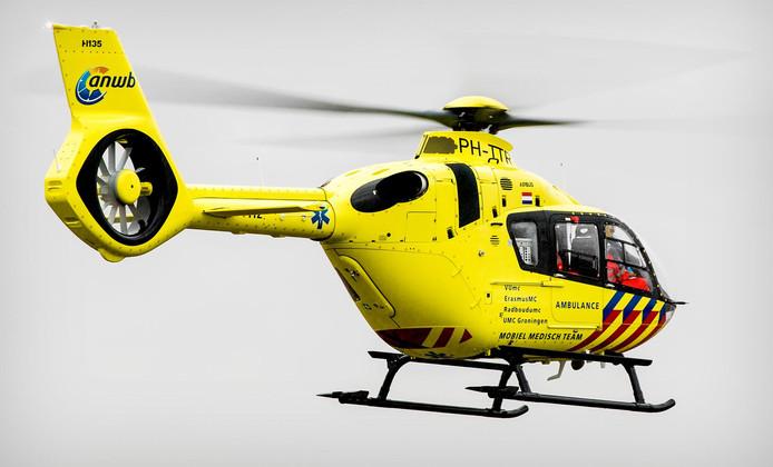 Archiefbeeld van een traumahelikopter