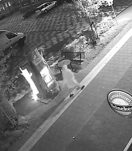 Brandstichter in wit gewaad zet boekenboom Nijmegen in vlammen
