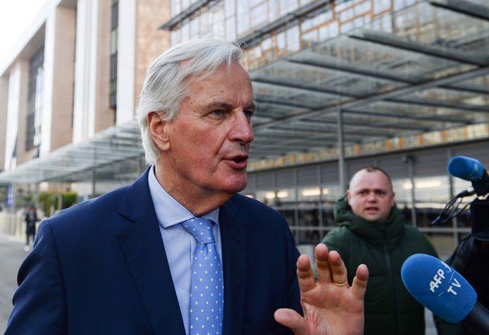 Michel Barnier, négociateur en chef pour l'UE.