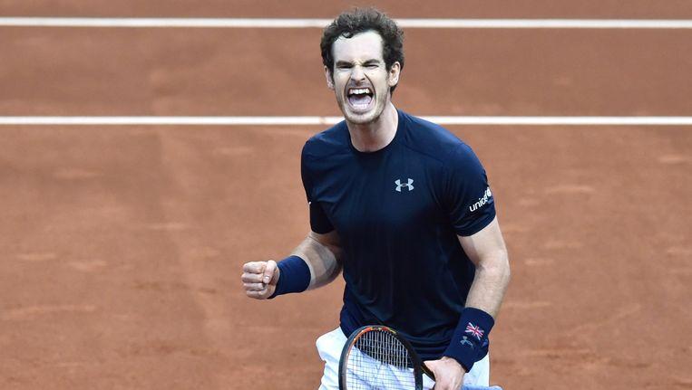 Andy Murray. Beeld afp