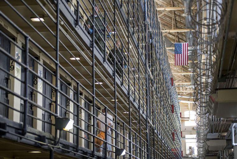De San Quentin State Prison. Beeld getty