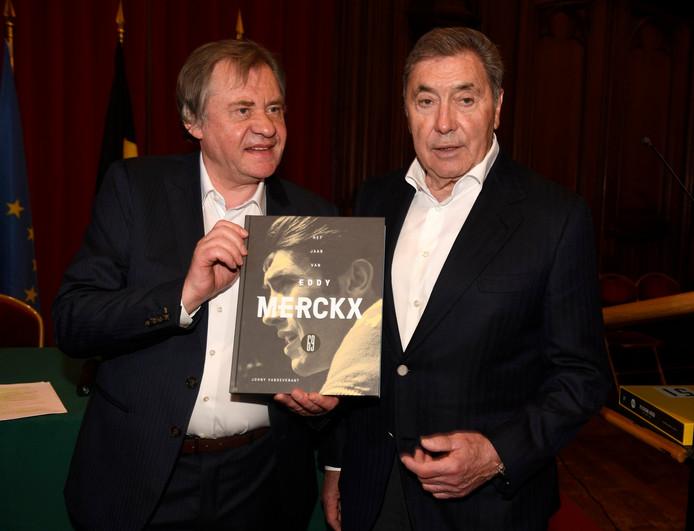 Johny Vansevenant et Eddy Merckx