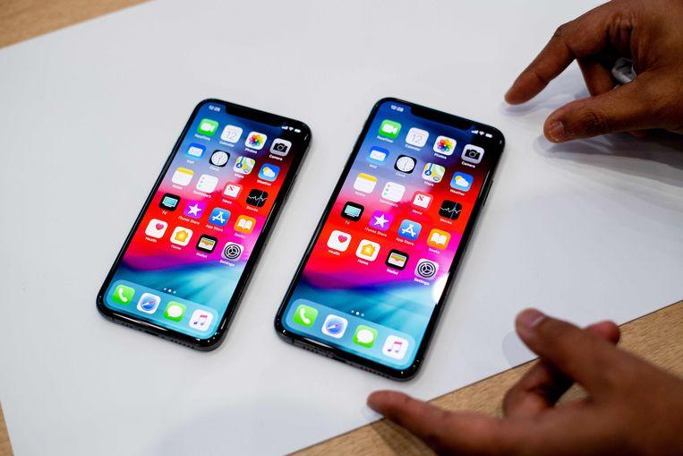 De nieuwe iPhone Xs en iPhone Xs Max. De versie van die laatste met 512 GB is de jouwe voor 1.659 euro.