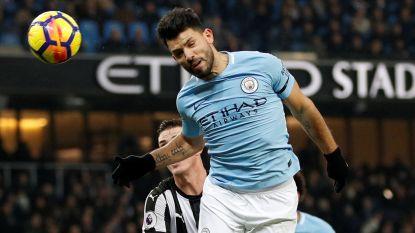 Het haar van hattrickheld Agüero of toch De Bruyne? Commissie kent openingsdoelpunt tegen Newcastle uiteindelijk toe aan Argentijn