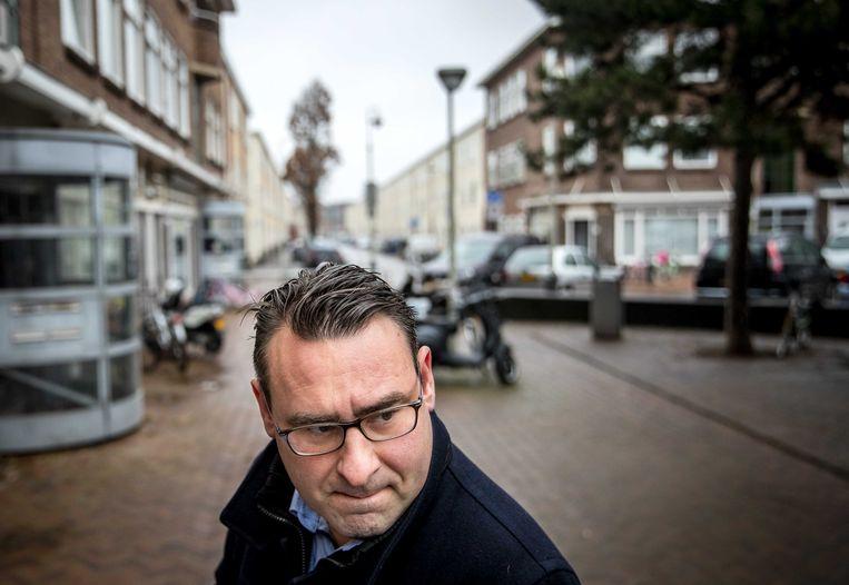 Richard de Mos van Groep De Mos in Den Haag. Beeld ANP