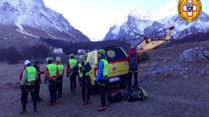 Drie bergbeklimmers omgekomen in Italië