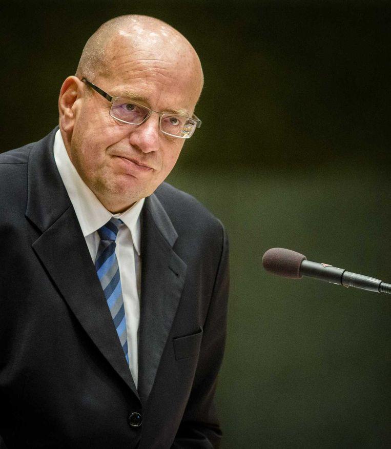 Staatssecretaris Fred Teeven van Veiligheid en Justitie Beeld anp