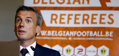 Johan Verbist, patron des arbitres, démis de ses fonctions