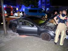 Man op heterdaad betrapt terwijl hij dure Mercedes in brand probeert te steken