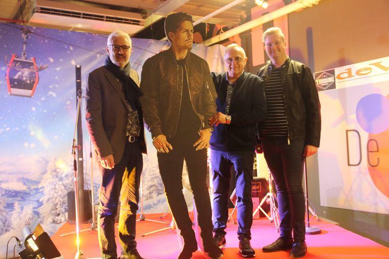 De opening van de pop-up winkel voor 'De Nacht met André Hazes'.
