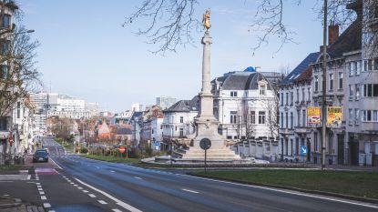 Gent, spookstad. Op eerste dag van drastische maatregelen is stadscentrum leeg