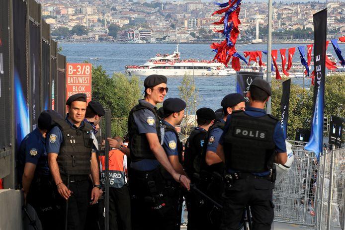 Turkse agenten in Istanboel. Foto ter illustratie.