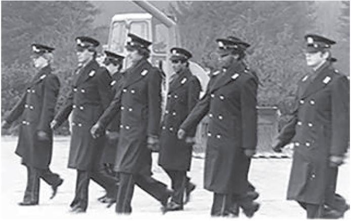 Chan Santokhi in zijn tijd om de politieacademie in Apeldoorn.