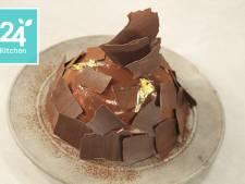 Pompoencake met Chai botercrème en melkchocolade