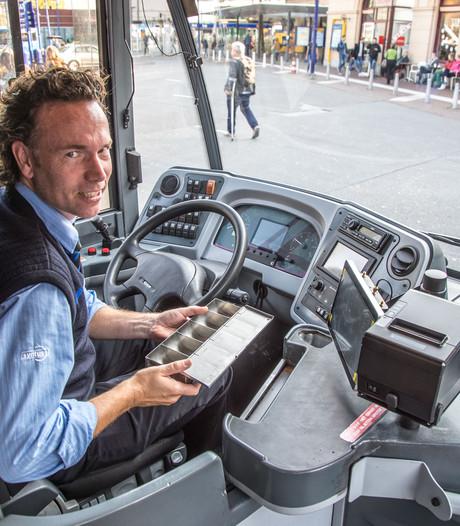Chauffeur 'platzak' in de bus