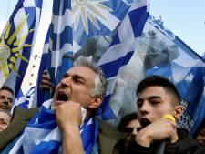 100.000 Grieken de straat op om namenkwestie Macedonië