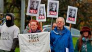 Boze demonstranten dwingen Britse premier Johnson campagnebezoek af te zeggen